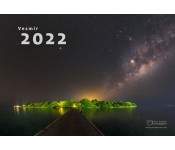 Astronomy  calendary  of Peter  Horalek for year 2022
