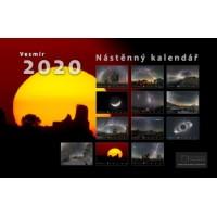 Astronomické fotografie Vesmír Kalendář 2020 Petr Horálekj