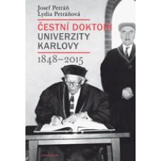 Doctors Honoris Causa of Charles University, 1848–2015
