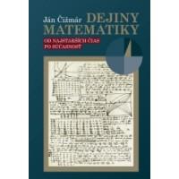 Dejiny matematiky  Ján Čižmár